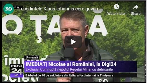 Presedintele Klaus Iohannis cere guvernului sa vina cu noi masuri pentru protectia padurilor