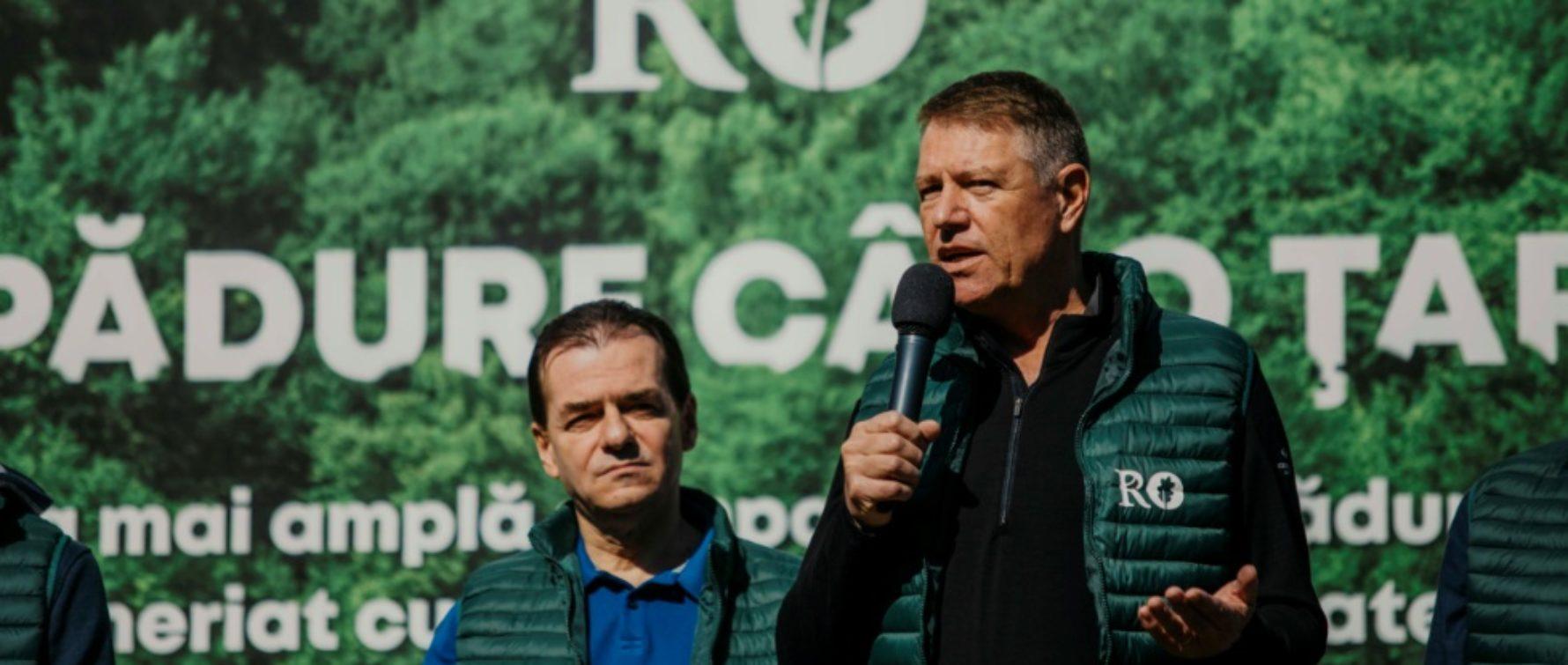 Iohannis: Este nevoie de mai multă pădure în România