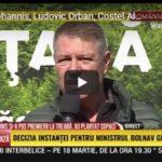 Klas Iohannis, Ludovic Orban, Costel Alexe si Florin Citu au participat la cea mai mare campanie de impadurire din Romania
